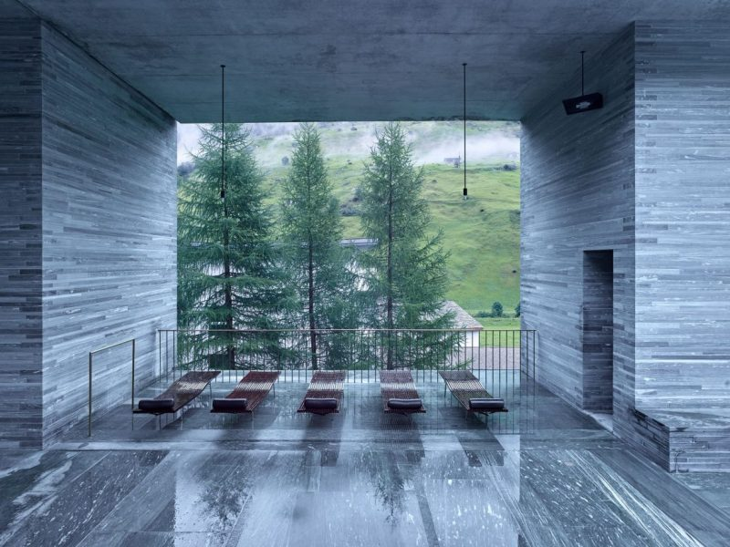 THOM MAYNE THERMES VALS AT 7132 HOTEL