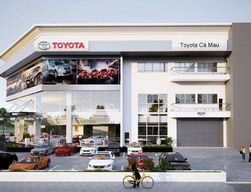 Thiết kế showroom trưng bày hãng xe ô tô HonDa thu hút