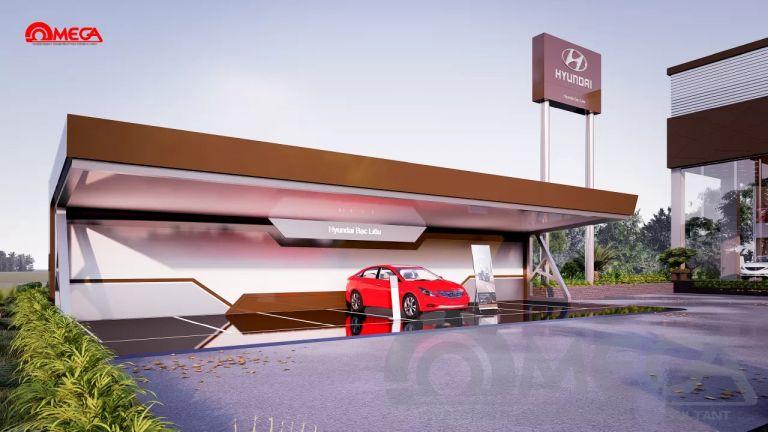 Những điều cần chú ý khi thiết kế showroom ô tô bạn cần phải biết