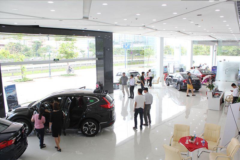 Các tiêu chuẩn thiết kế showroom trưng bày ô tô